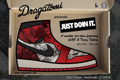 "Dragatomi presents ""Just Doin' It"" Art Show by kaNO & Tracy Tubera"