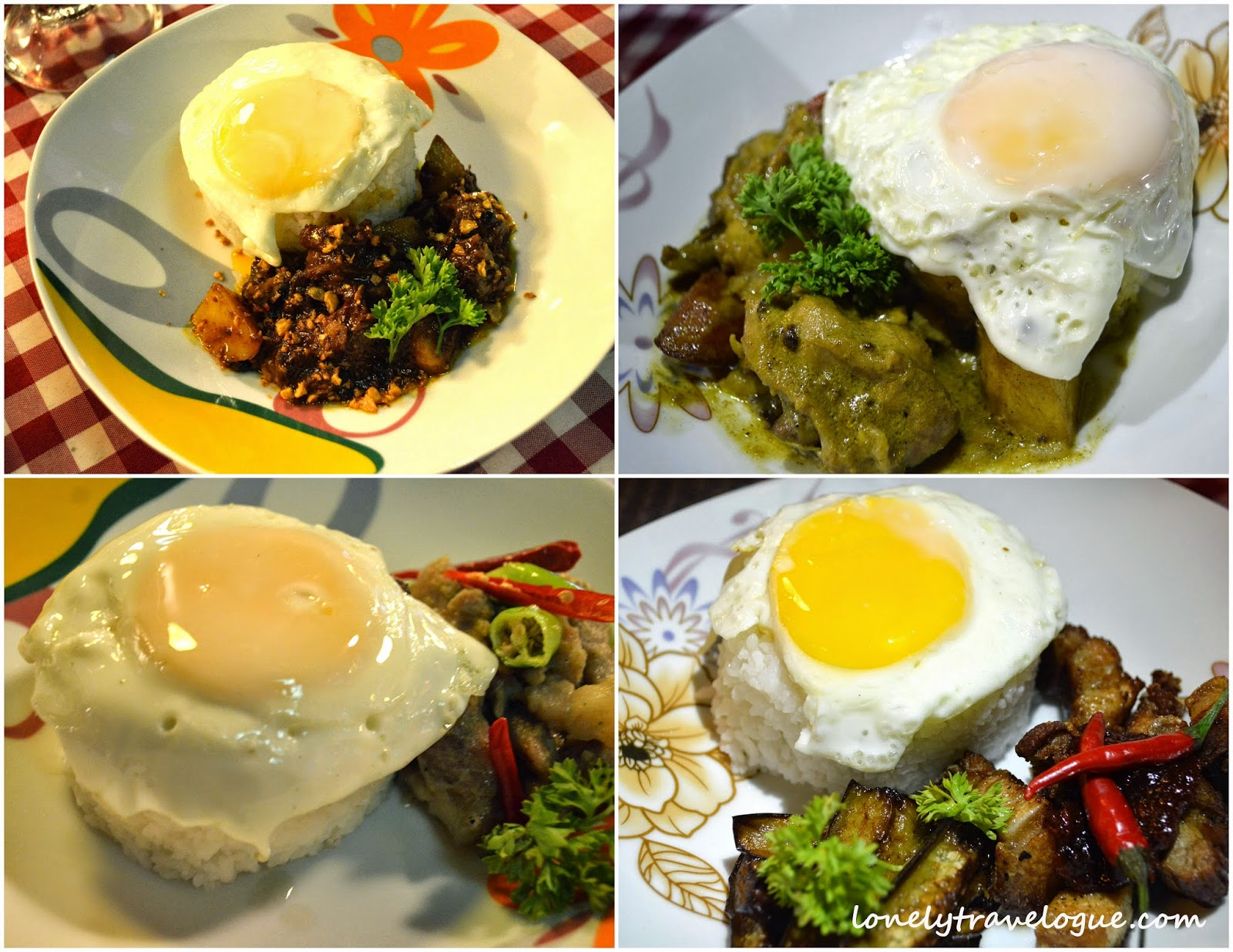 food travelogue examples