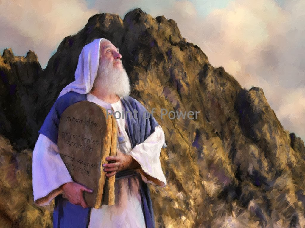 an analysis of the second commandment given to moses by god on mount sinai Mount sinai in mount sinai where god is purported to have appeared to moses and given him the ten commandments with moses and the sinai covenant between.