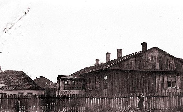 Końskie, getto, ul. Kopce 3. Fotografię udostępnił Mateusz Partyka