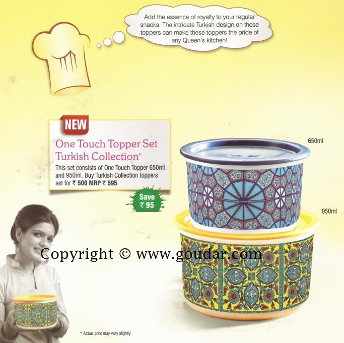 Tupperware India Flyer September 2012 / Tupperware Consumer Flyer