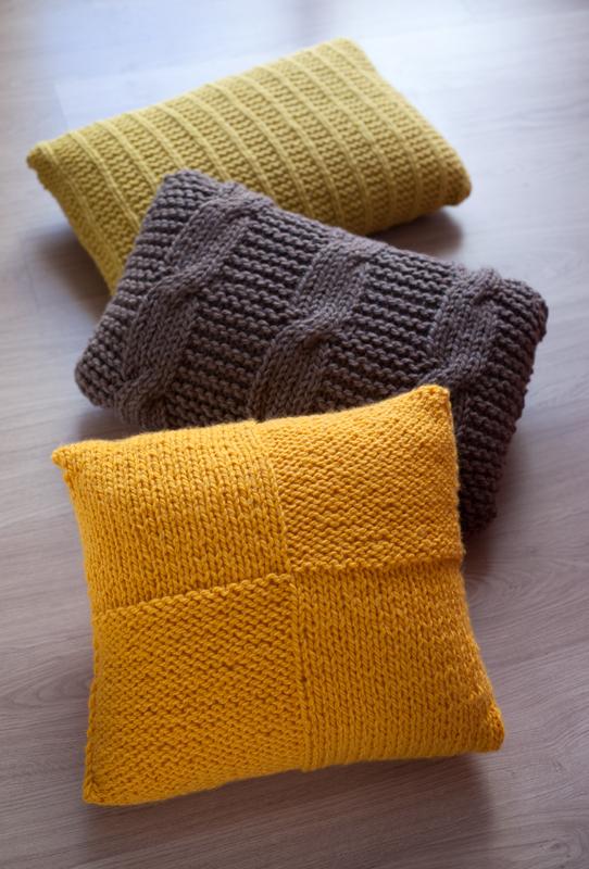 Lanukas m s cojines de estilo n rdico - Cojines de lana hechos a mano ...