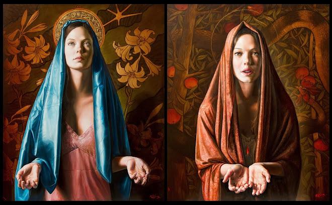 Virgen de la Anunciación / La Virgen y el Basilisco II