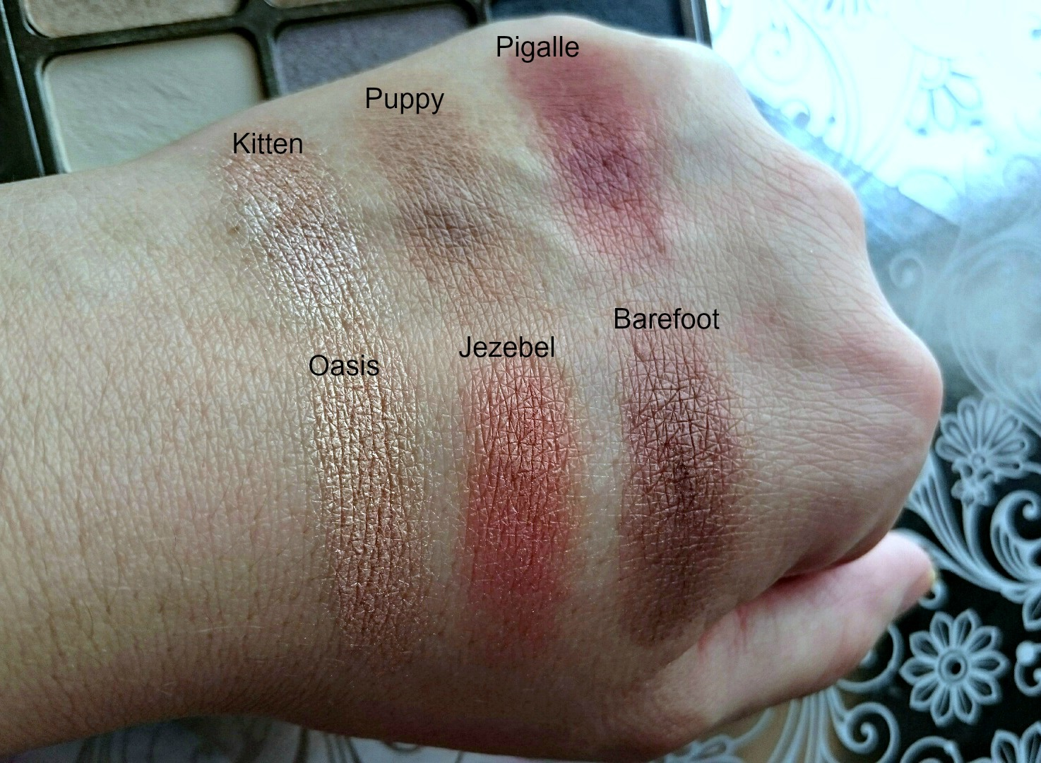 stila eyes are the window sprit swatches