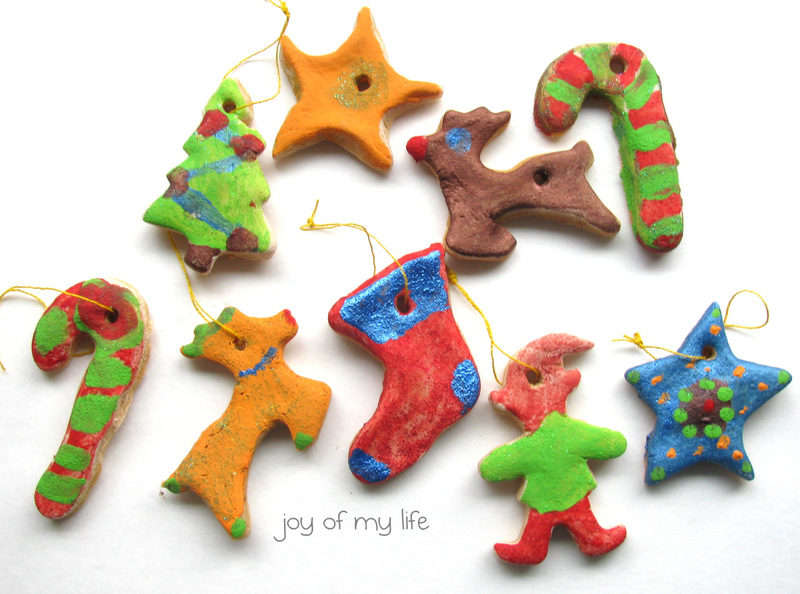 The joy of my life and other things kids craft salt for Salt dough crafts figures