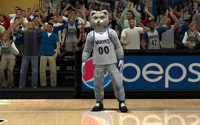 NBA 2K13 Minnesota Timberwolves Mascot Mod