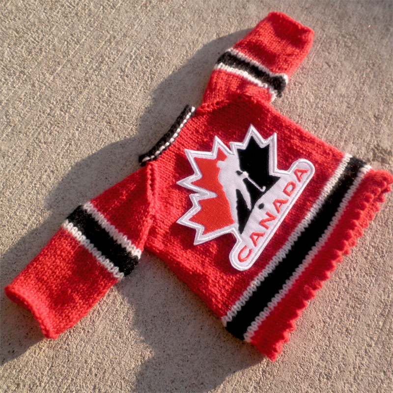 Hockey Sweater Pattern - Cashmere Sweater England