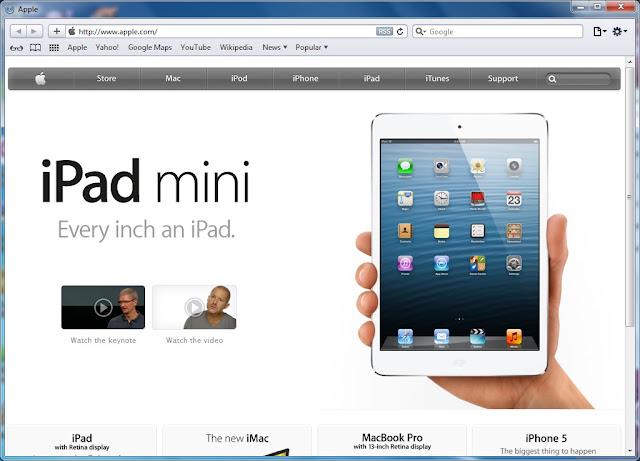 Free Download Safari 5.1.7 Final Full Version (Freeware)