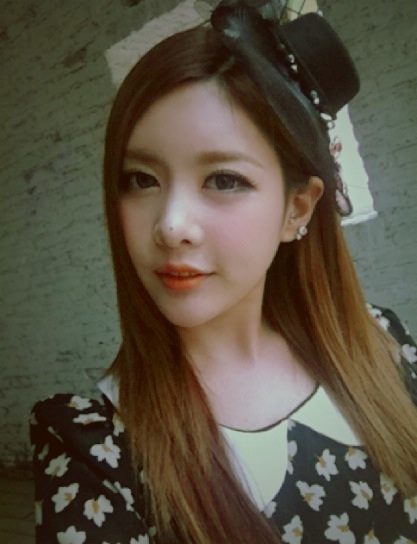 Picture] T-ara's Qri shows off her beauty in recent selca ...