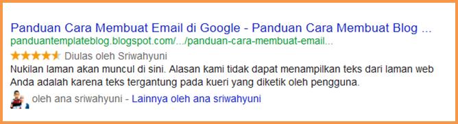Cara Membuat & Menampilkan Rating Bintang Di Google