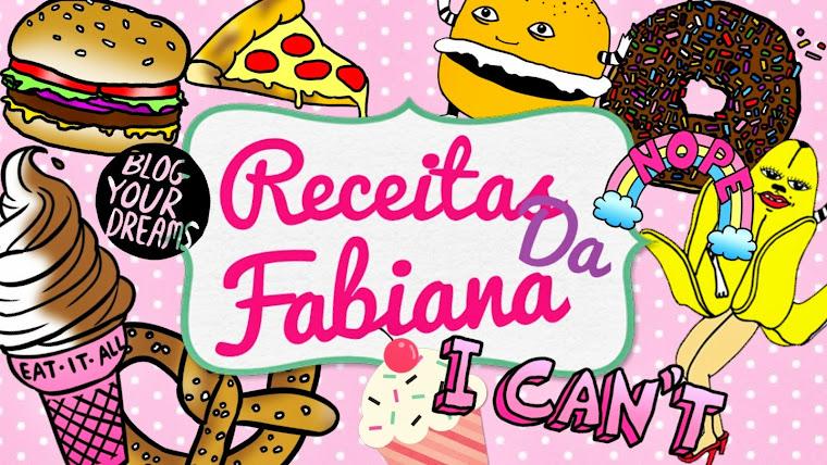 Receitas da Fabiana