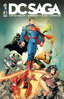 magazine DC Saga volume 3 (aout 2012)
