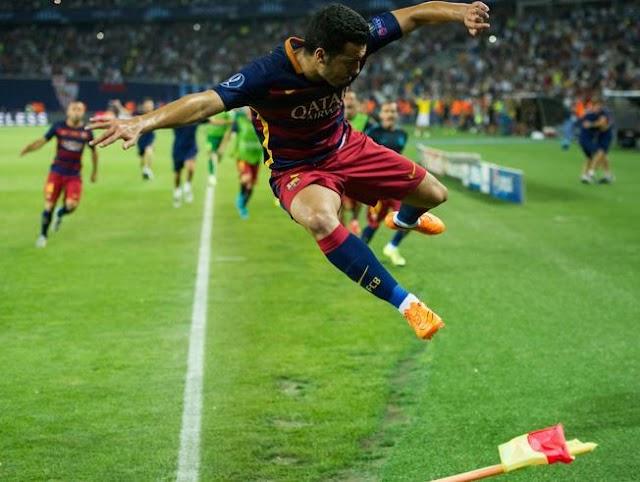 Pedro dá Supercopa da Europa ao Barcelona em tempos de adeus