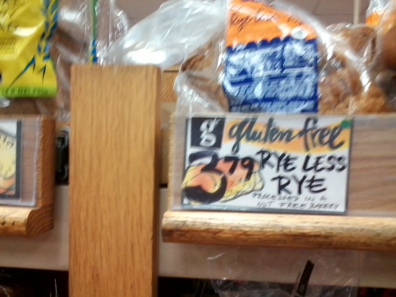 "... original that looked intriguing: a gluten-free ""ryeless rye"" bread"