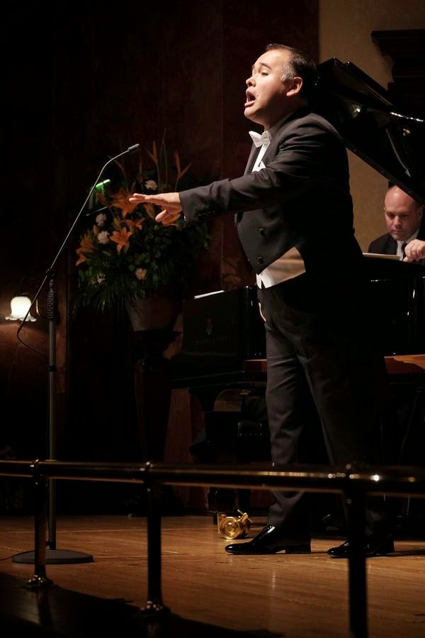 Javier Camarena at the Wigmore Hall - photo Jonathan Rose