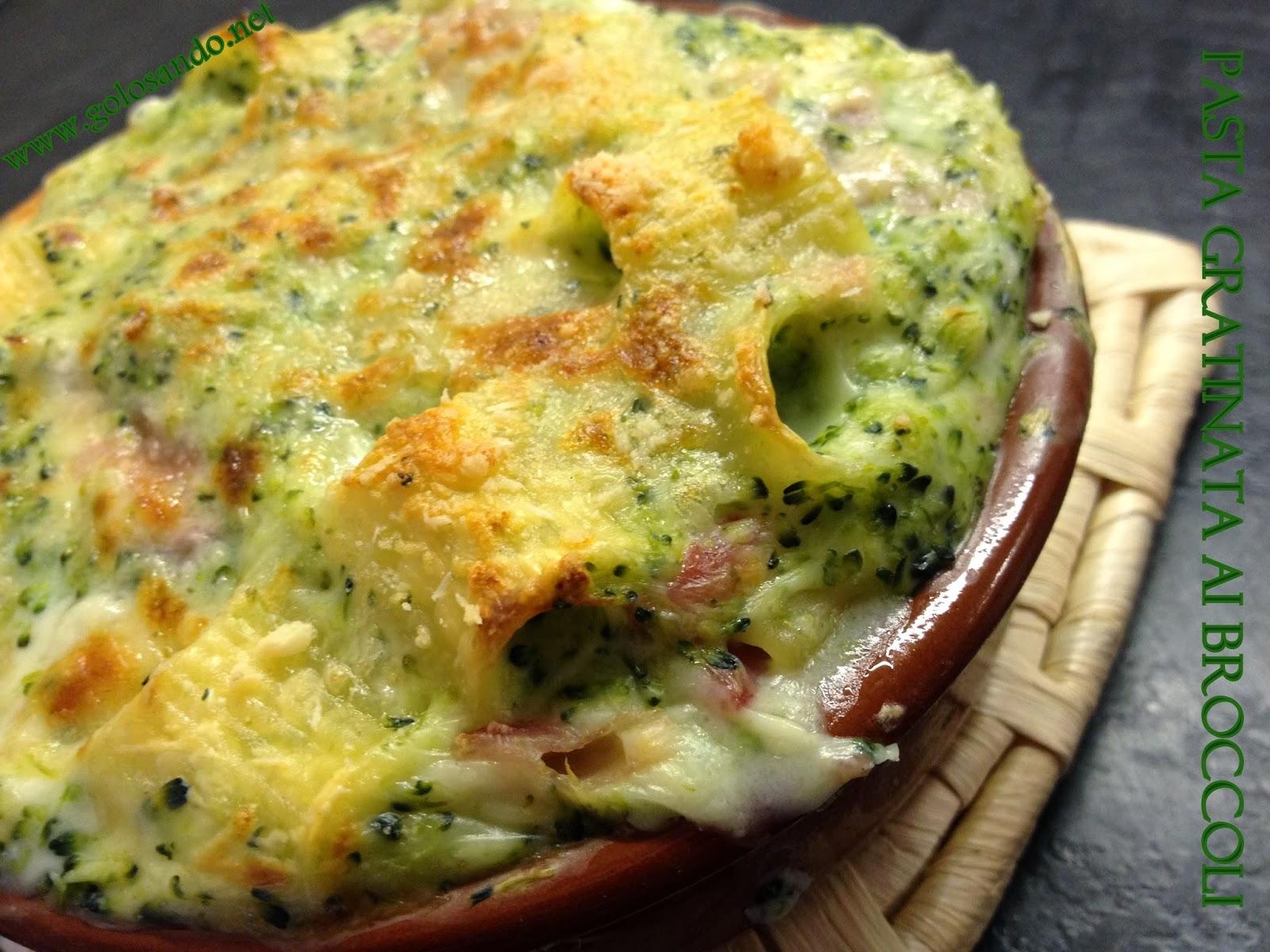 Ricetta pasta broccoli e salsiccia al forno