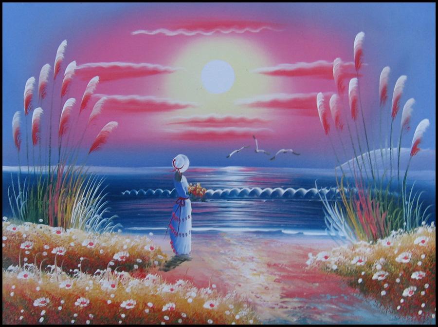 Tienda venta blogspot com es lienzo pintado de oleo dama - Pintar en lienzo para principiantes ...