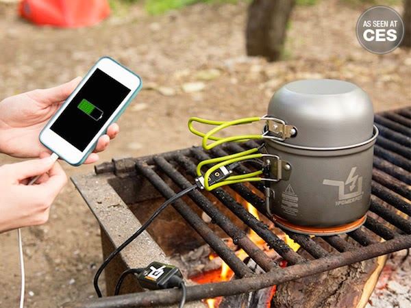 powerpot carregador del movil a la cuina