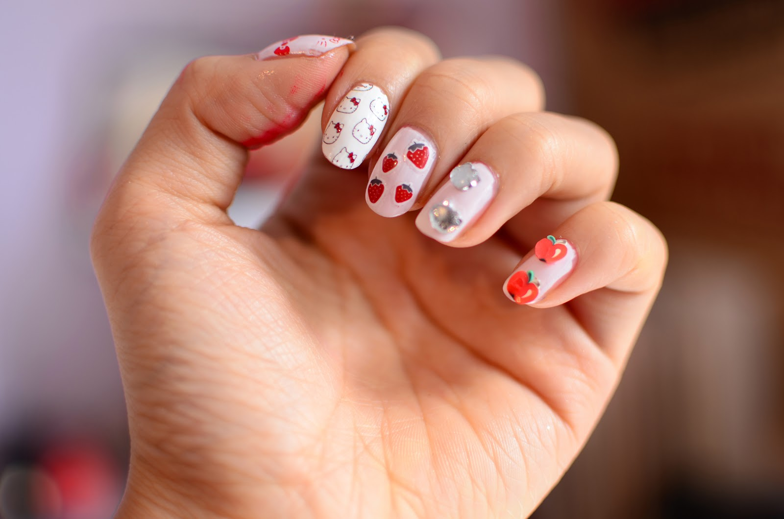 Fun Size Beauty Hello Kitty Kawaii Nail Art Set Hello Kitty 40th