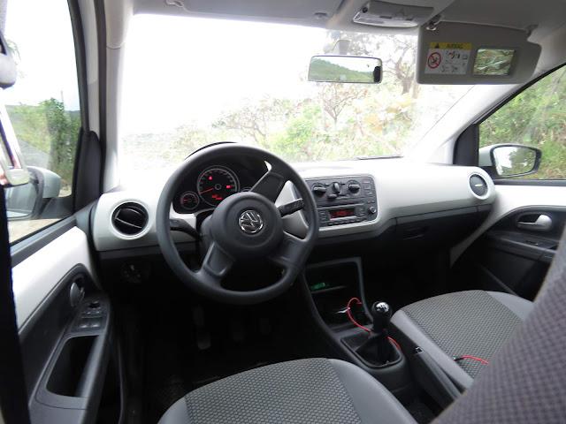 Volkswagen Up! TSI - teste - consumo