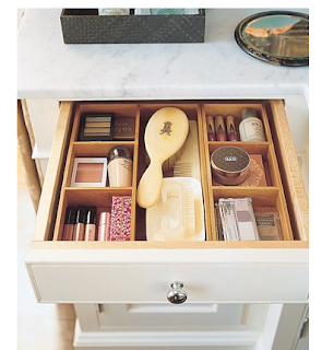 divide and conquer a great way to keep everything organised in the