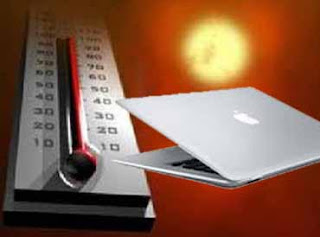 high temperature, laptop computers