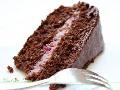 Receita de Bolo de Chocolate Trufado