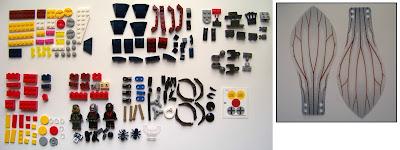 LEGO Ant-Man Final Battle contents