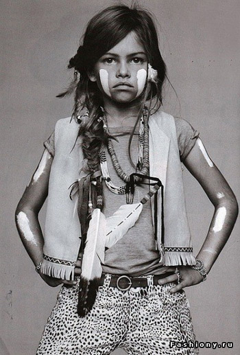 10 year old french model.
