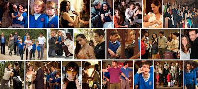 Escenas de la serie de Antena 3 El Internado