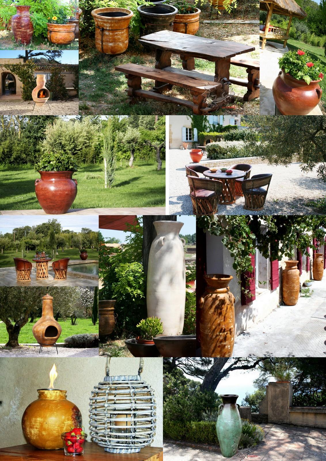 amadera meuble et decoration le charme ethique du With idees deco jardin exterieur 13 amadera lincontournable de la decoration de jardin le