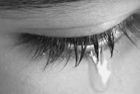 lágrimas en los ojos