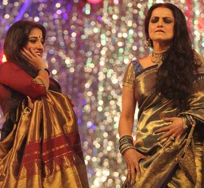 Rekha Dance With Vidya on Dance Border