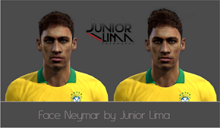 Face Neymar by Junior Lima