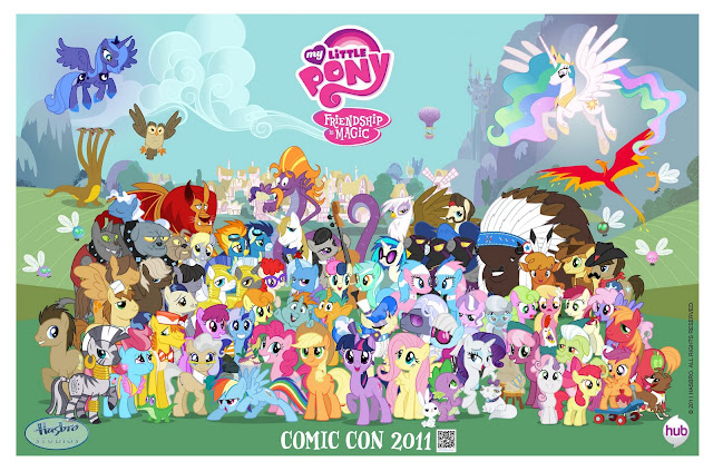 Exclusive My Little Pony Comic-Con Poster