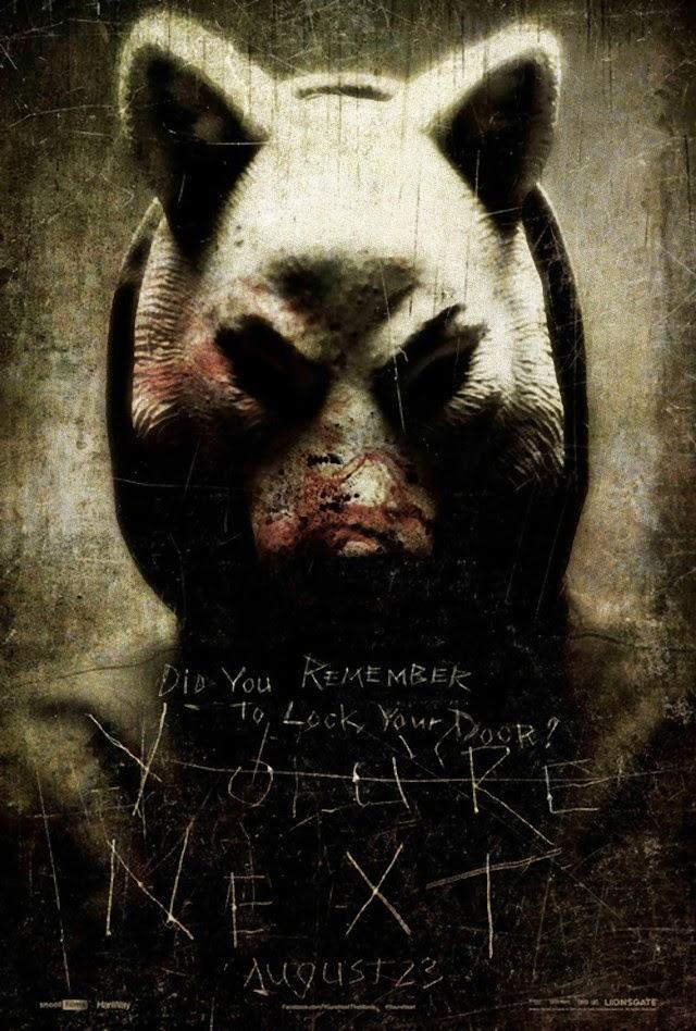 La película You're Next ( Tú eres el siguiente )