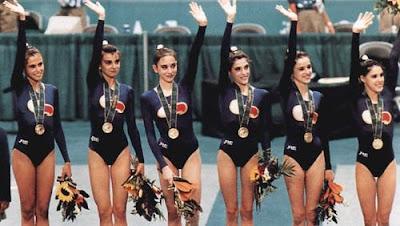 Estela Giménez, Marta Baldó, Estíbaliz Martínez, Lorena Guréndez, Nuria Cabanillas y Tania Lamarca