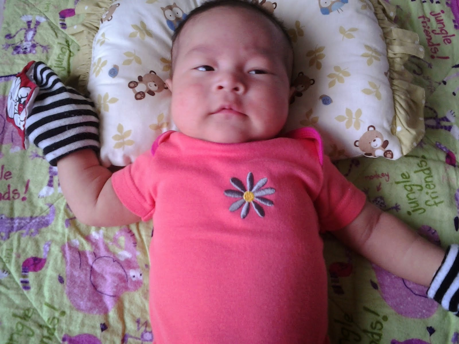 2 months old lil Maryam Hannah