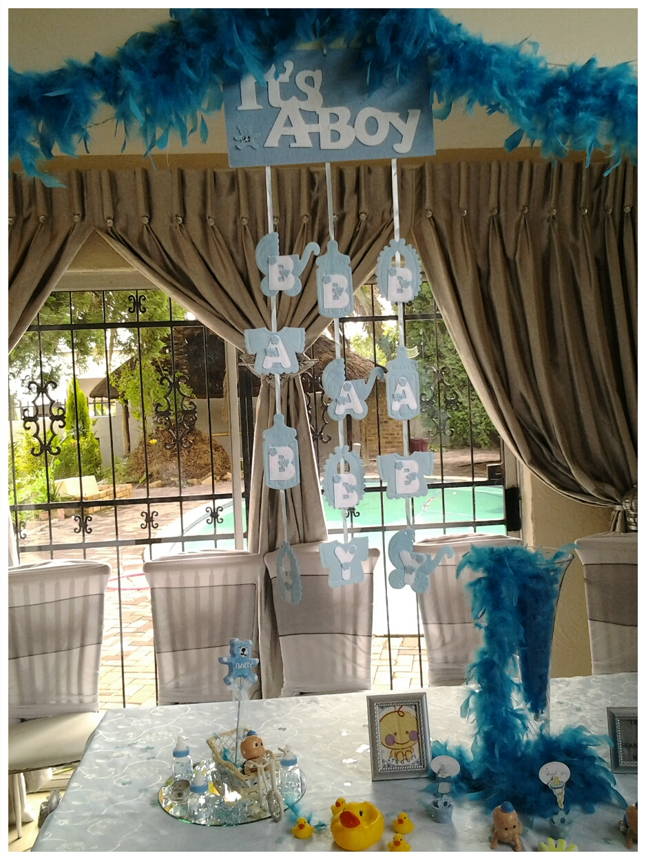 venue and halaal catering for all functions baby shower boy