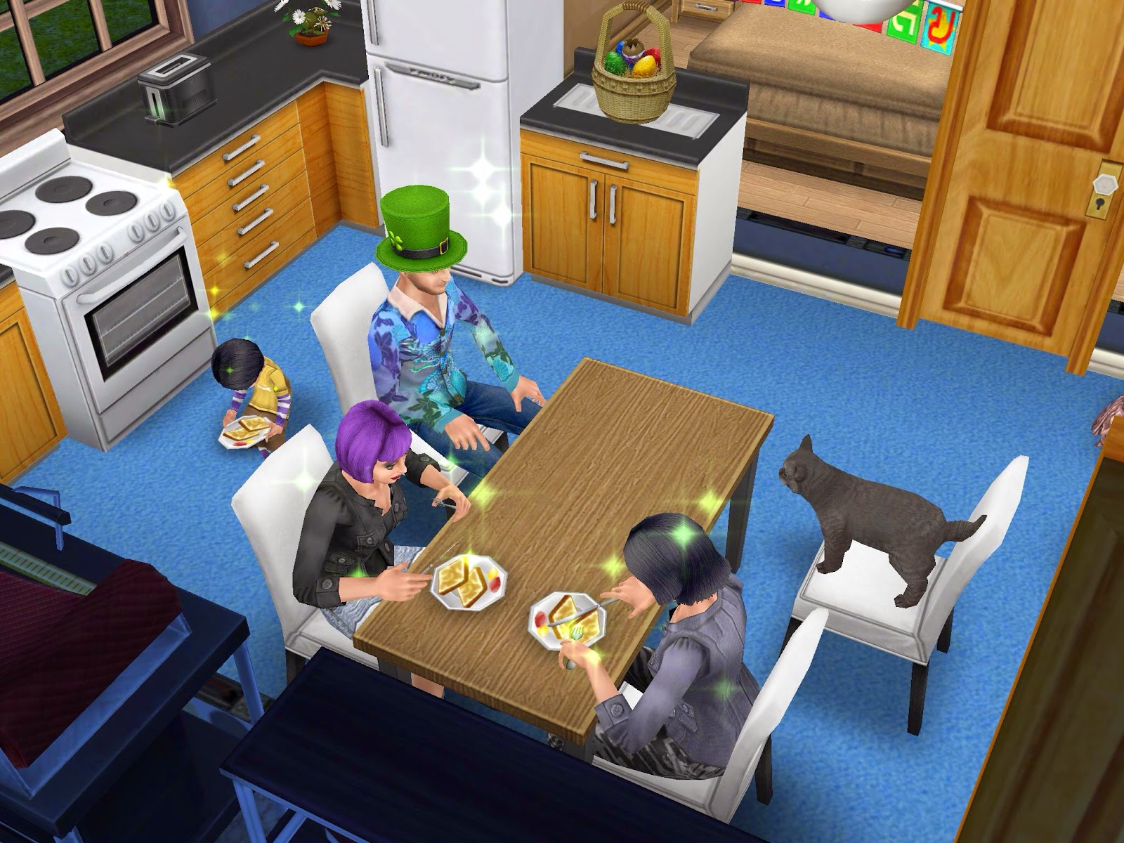 Wonderful image of Missy's Sims and Stuff: The Sims Freeplay ~ Bread Winner Quest  with #A57226 color and 1600x1200 pixels