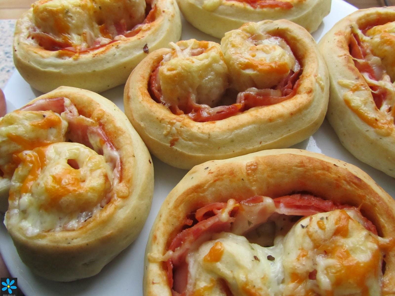 Palmeritas de pizza - Menu para cumpleanos adultos ...