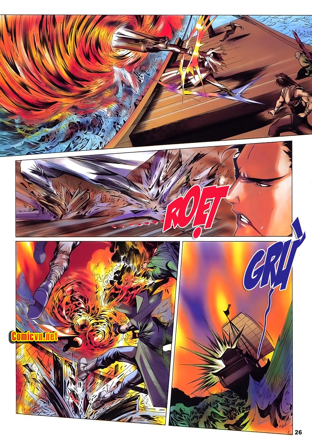 Lục Đạo Thiên Thư chap 15 - Trang 26