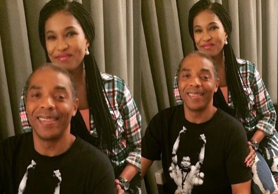 New Pictures Of Femi Kuti And Ex-Wife Funke Kuti Together