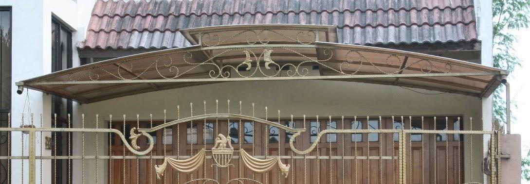 Canopy rumah minimalis 2
