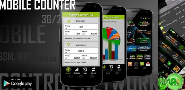 Mobile Counter Pro - 3G , WiFi v3.3.3 apk for Android