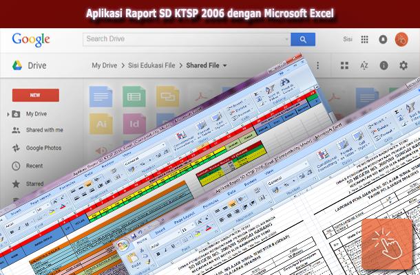 Aplikasi Raport KTSP SD Terbaru dengan Microsoft Excel Download Gratis