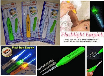 Pembersih Telinga Dengan Lampu (Flashlight Earpick)