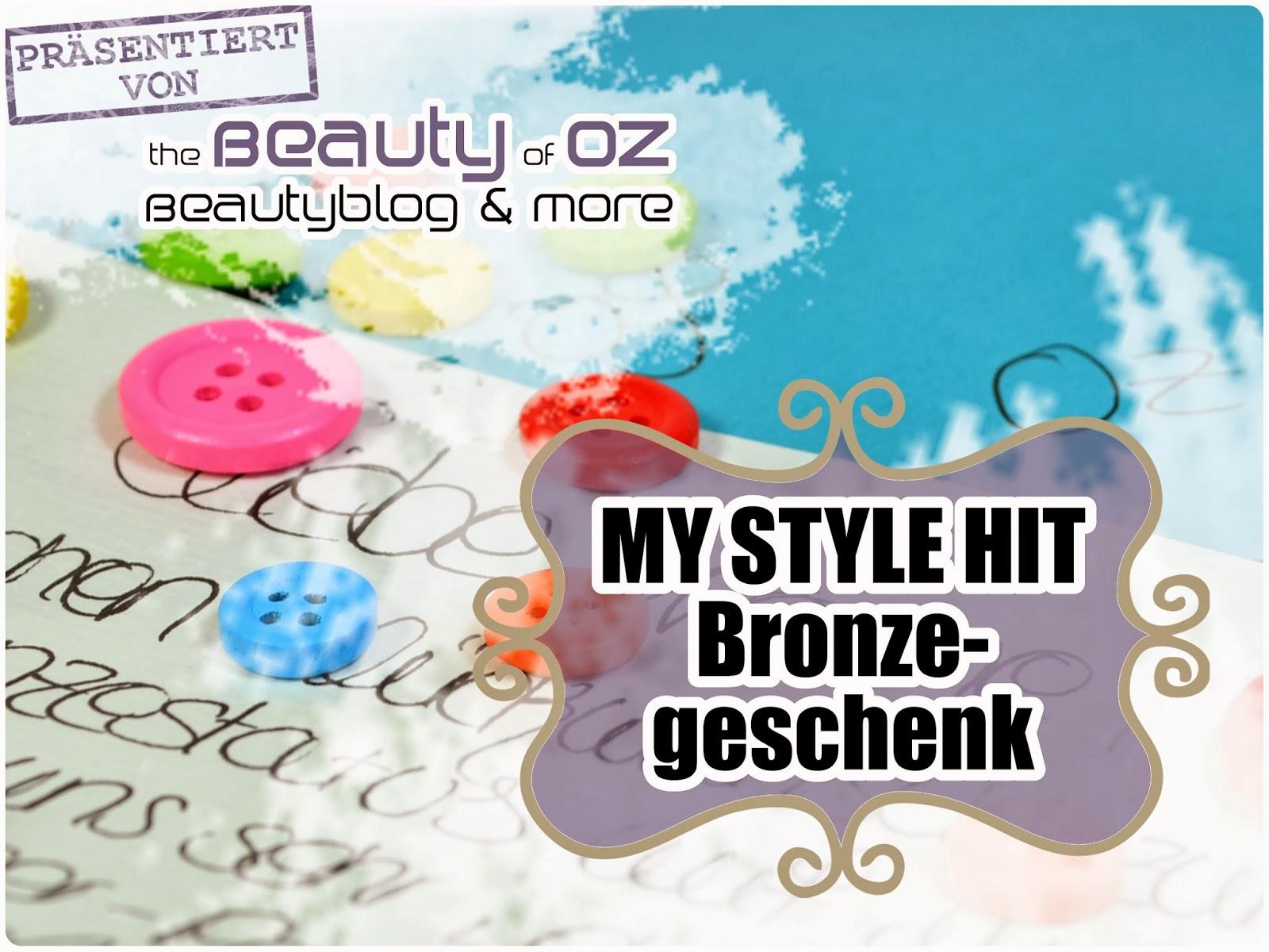 My Style Hit Bronzegeschenk