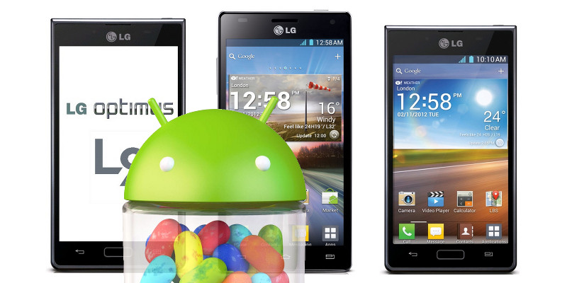 LG Jelly Bean Optimus Trio