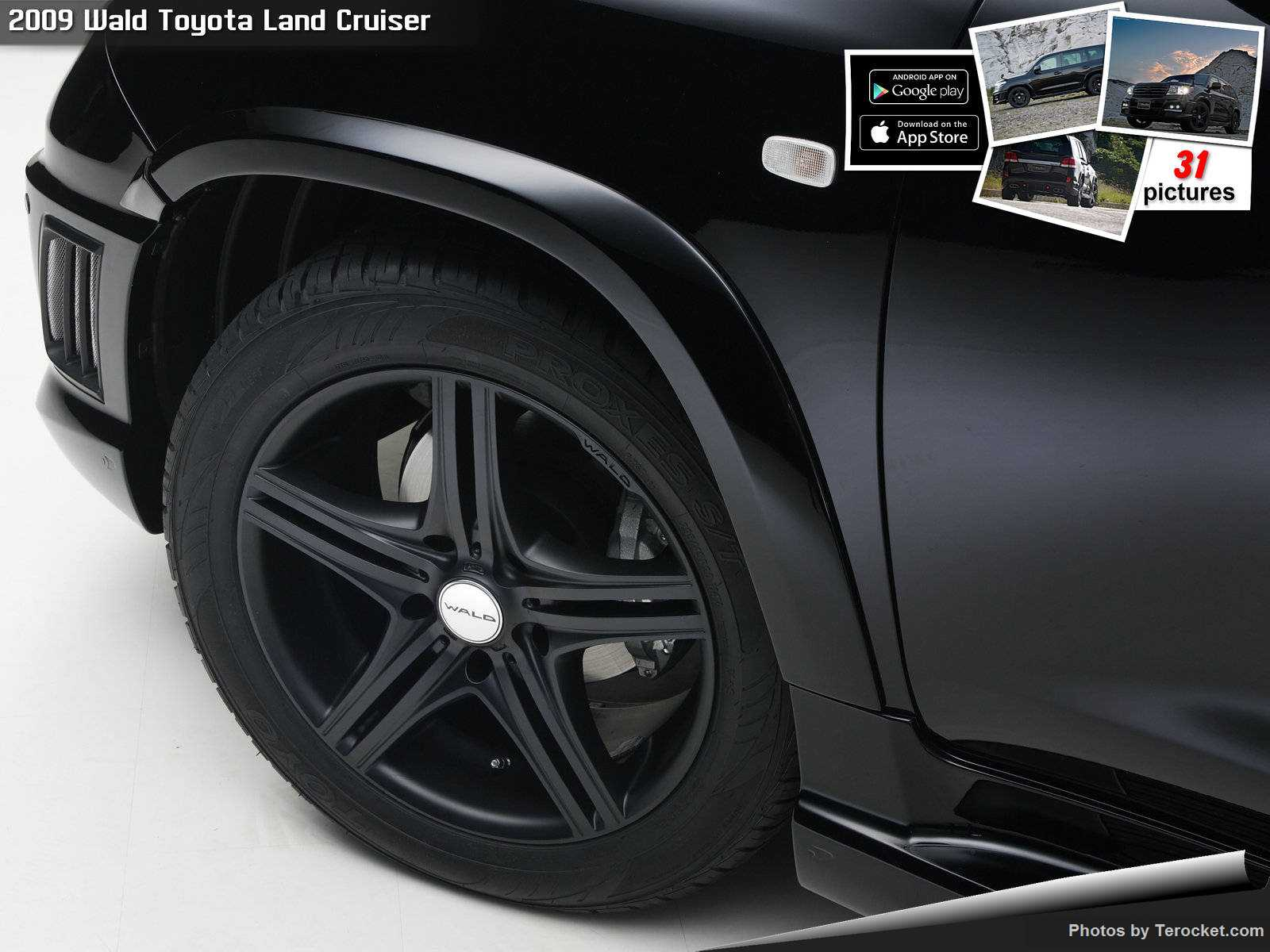 Hình ảnh xe độ Wald Toyota Land Cruiser 2009 & nội ngoại thất